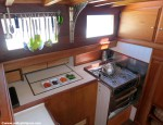 S/Y Desiderata | Galley | Interior