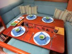 S/Y Desiderata | Saloon Dining Table | Interior