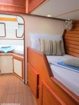 S/Y Desiderata | Single Berth | Interior